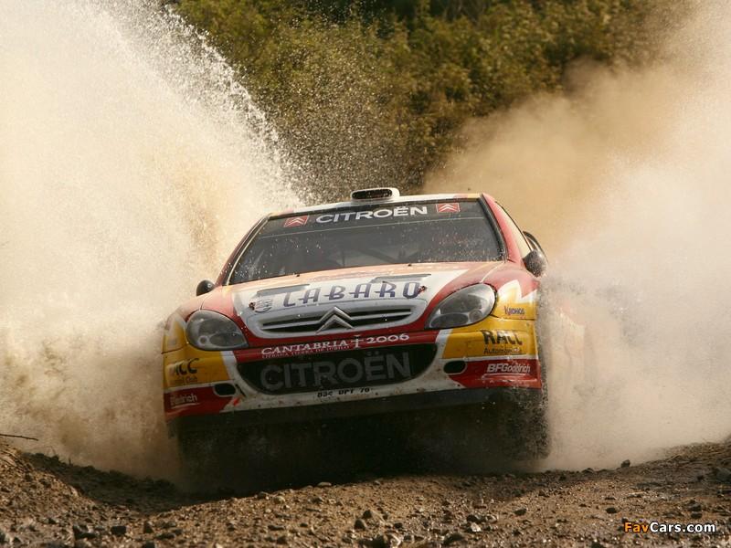 Photos of Citroën Xsara WRC 2001–06 (800 x 600)