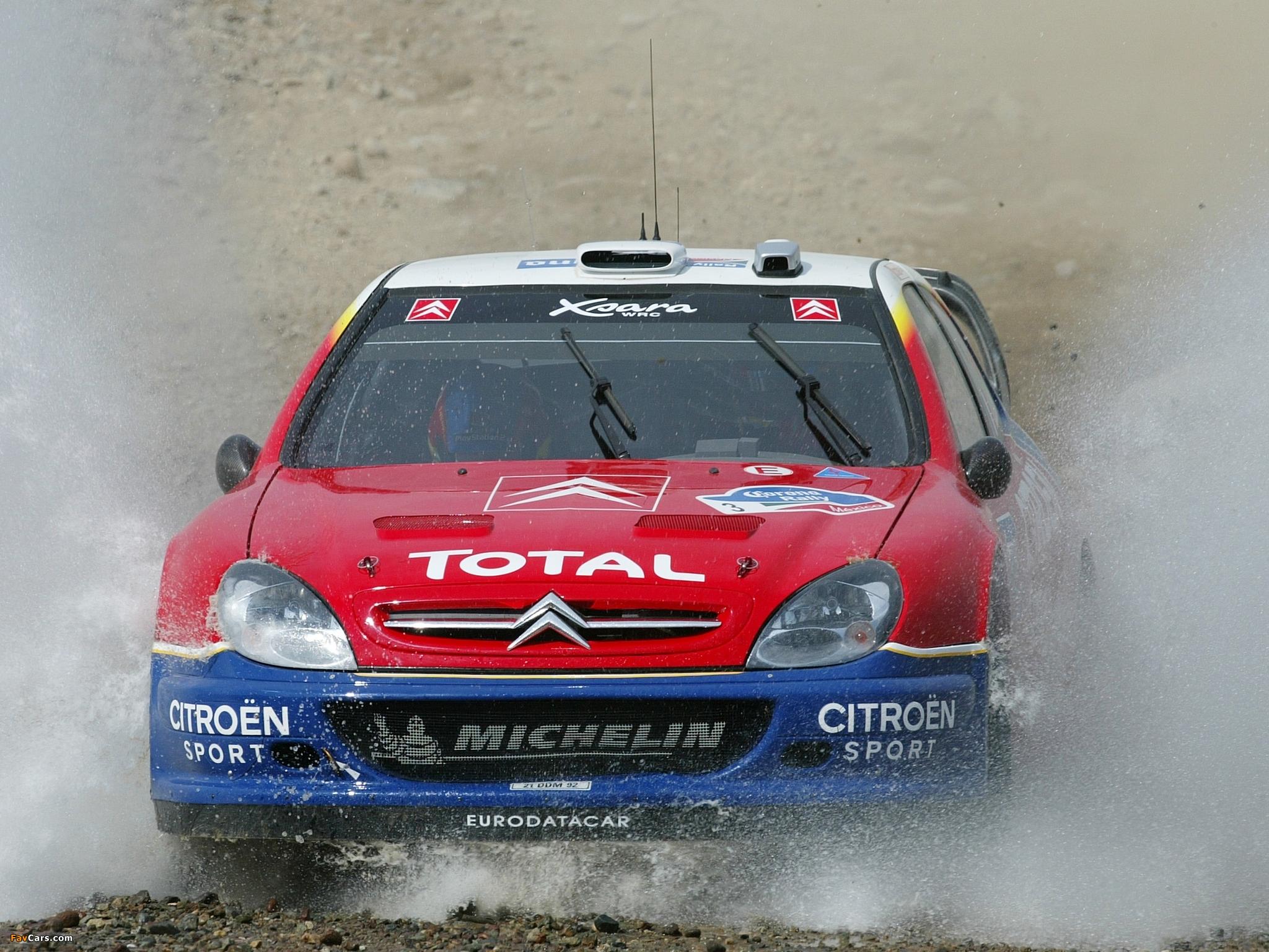 Photos of Citroën Xsara WRC 2001–06 (2048 x 1536)
