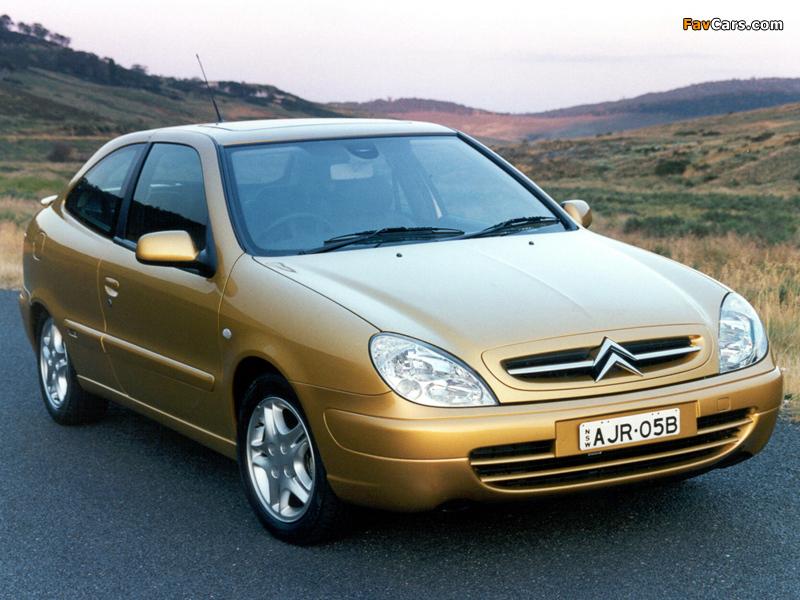 Pictures of Citroën Xsara VTS AU-spec 2000–03 (800 x 600)