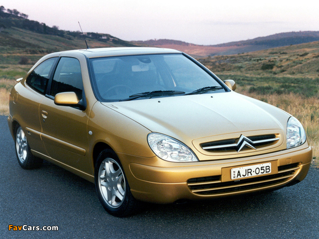 Pictures of Citroën Xsara VTS AU-spec 2000–03 (640 x 480)