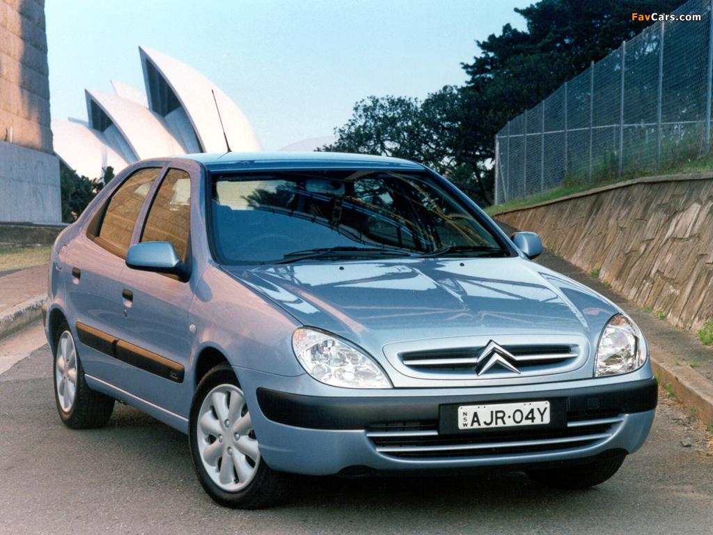 Citroën Xsara Hatchback AU-spec 2000–03 wallpapers (1024 x 768)