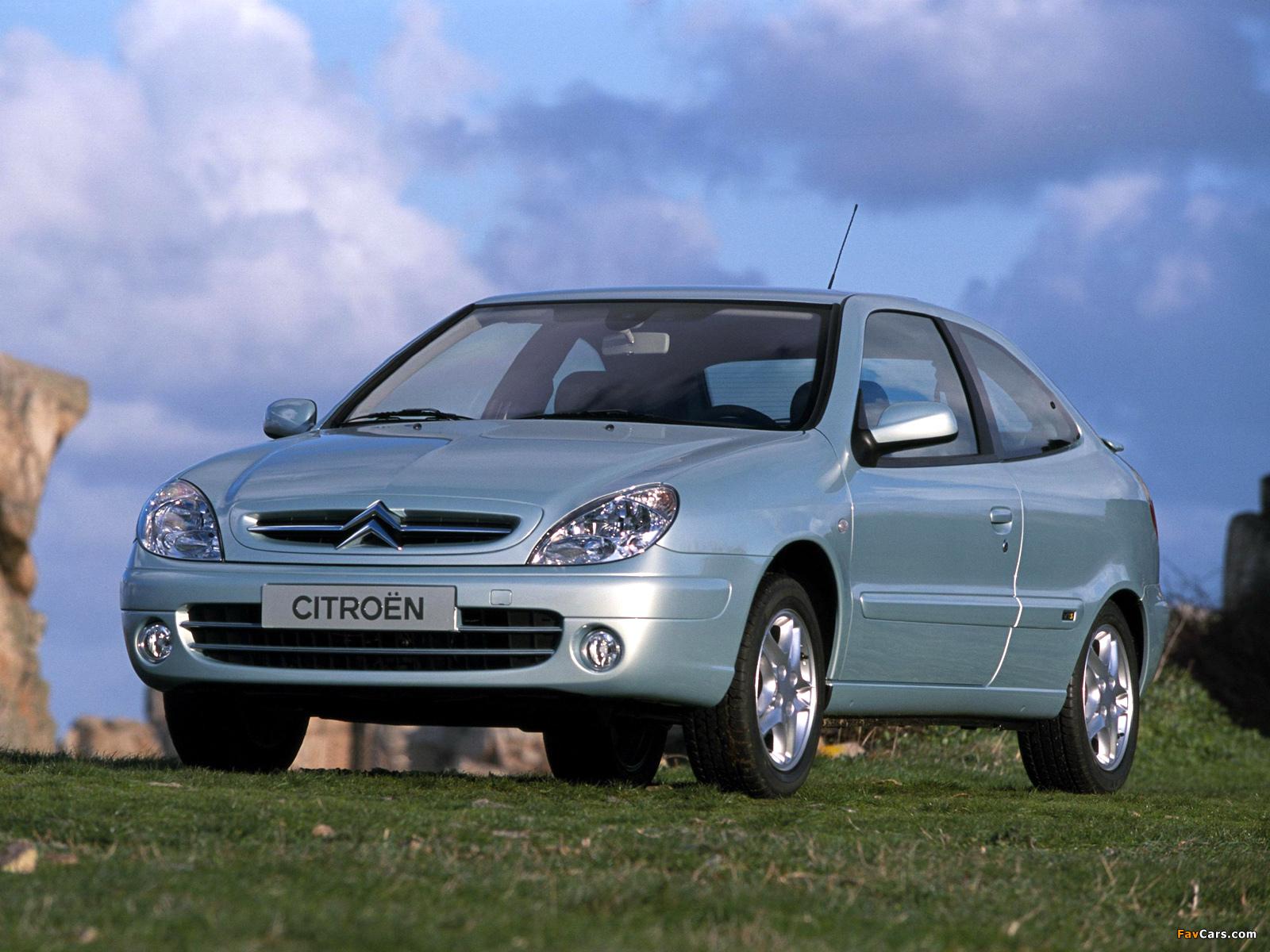 Citroën Xsara VTS 2003–04 wallpapers (1600 x 1200)