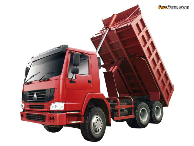 CNHTC Howo 6x4 Tipper 2008 wallpapers (640 x 480)