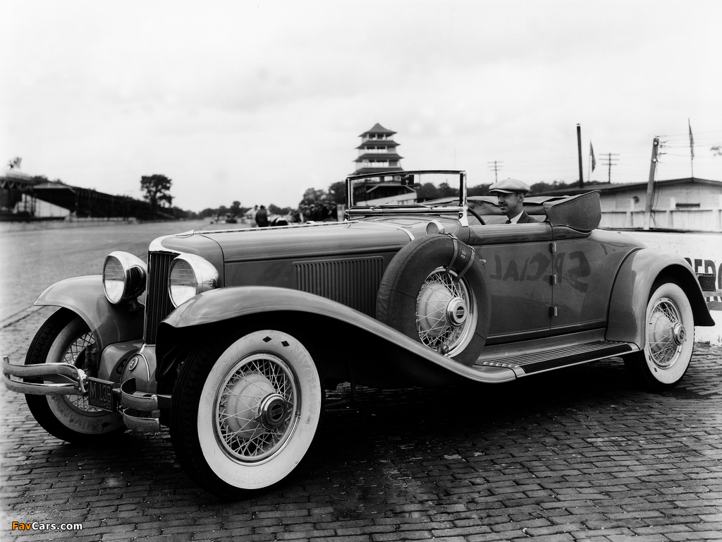 Cord L-29 Convertible Indy 500 Pace Car 1930 photos (1024 x 768)