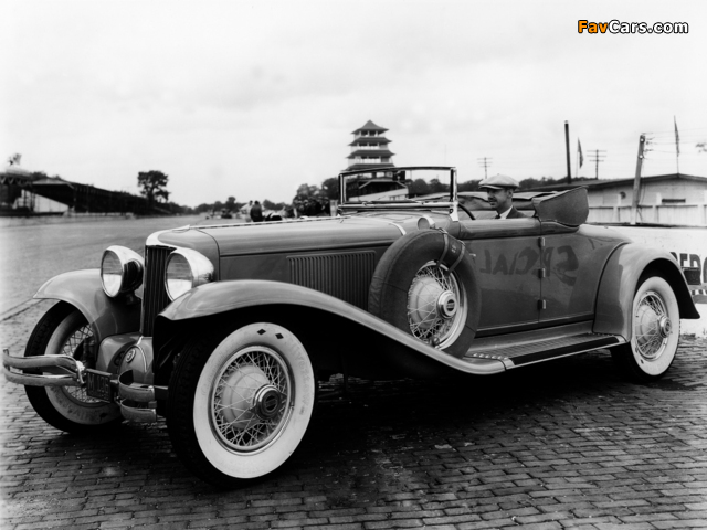 Cord L-29 Convertible Indy 500 Pace Car 1930 photos (640 x 480)