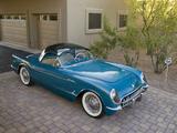 Corvette C1 Bubbletop 1954 images