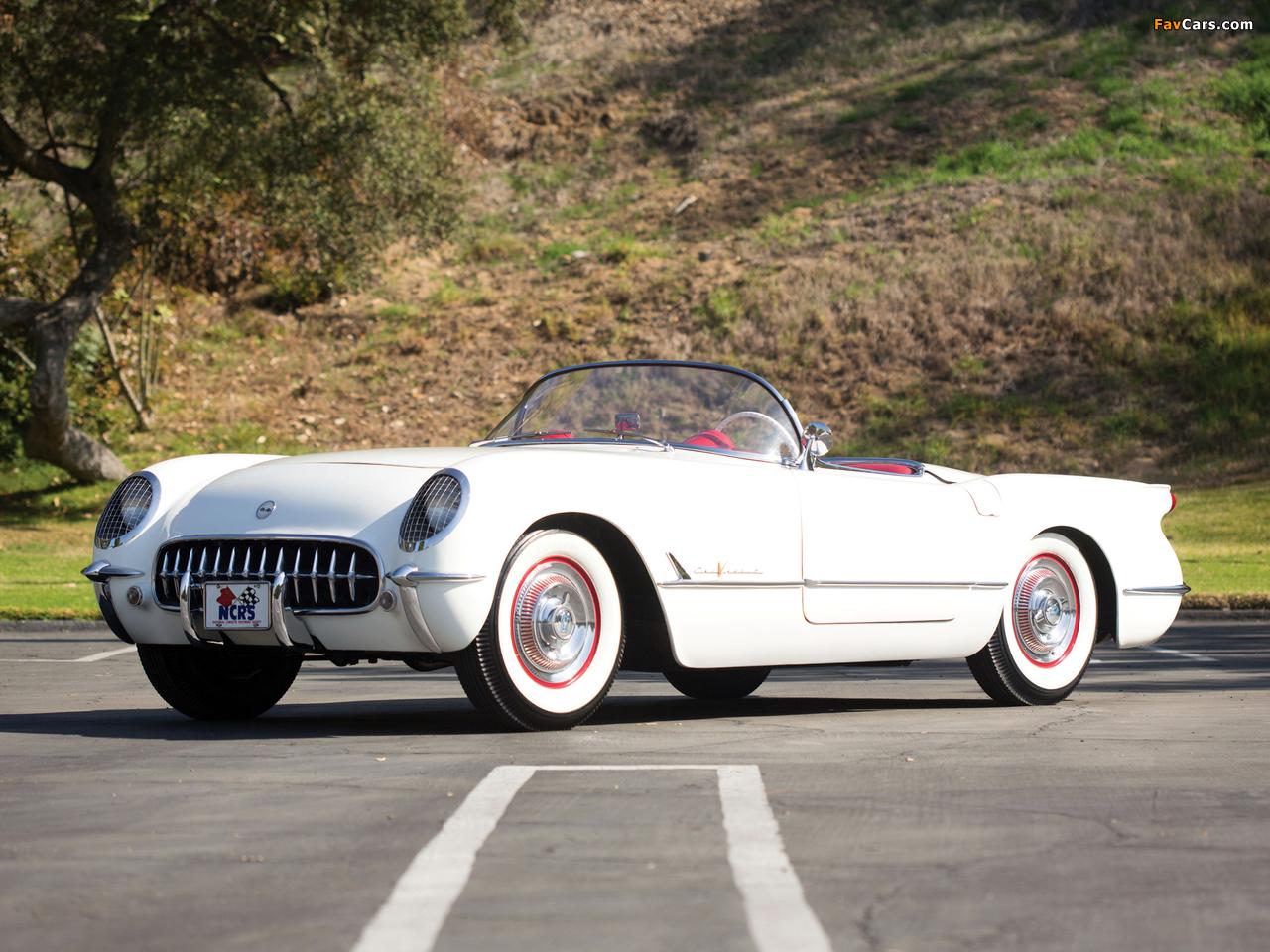 Corvette C1 1955 images (1280 x 960)