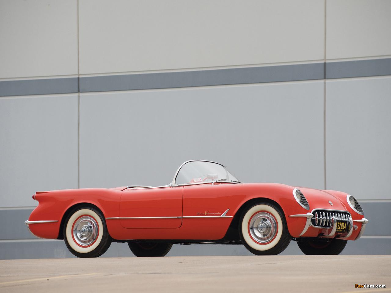 Corvette C1 1955 pictures (1280 x 960)