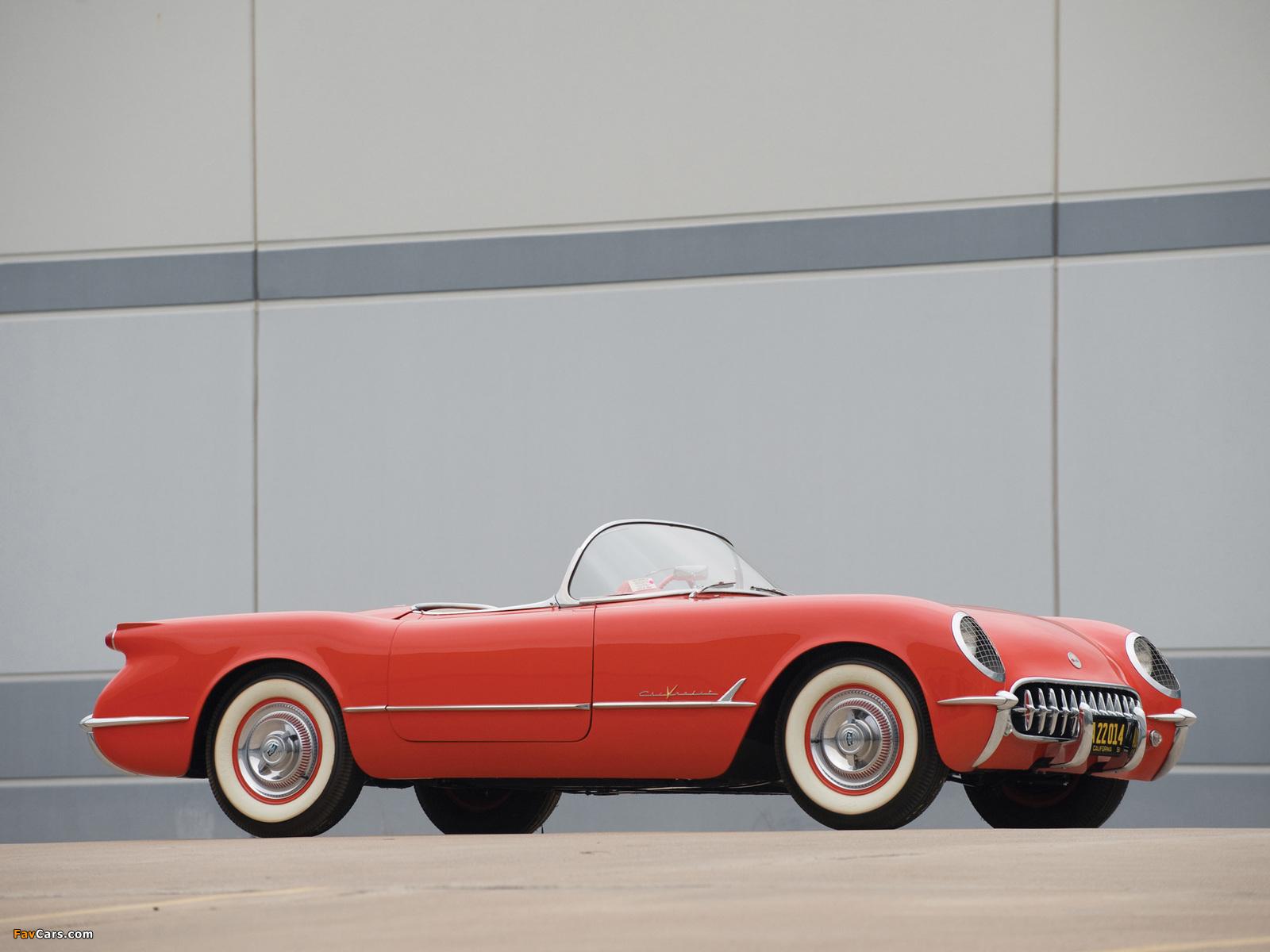 Corvette C1 1955 pictures (1600 x 1200)