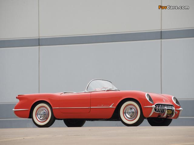 Corvette C1 1955 pictures (640 x 480)