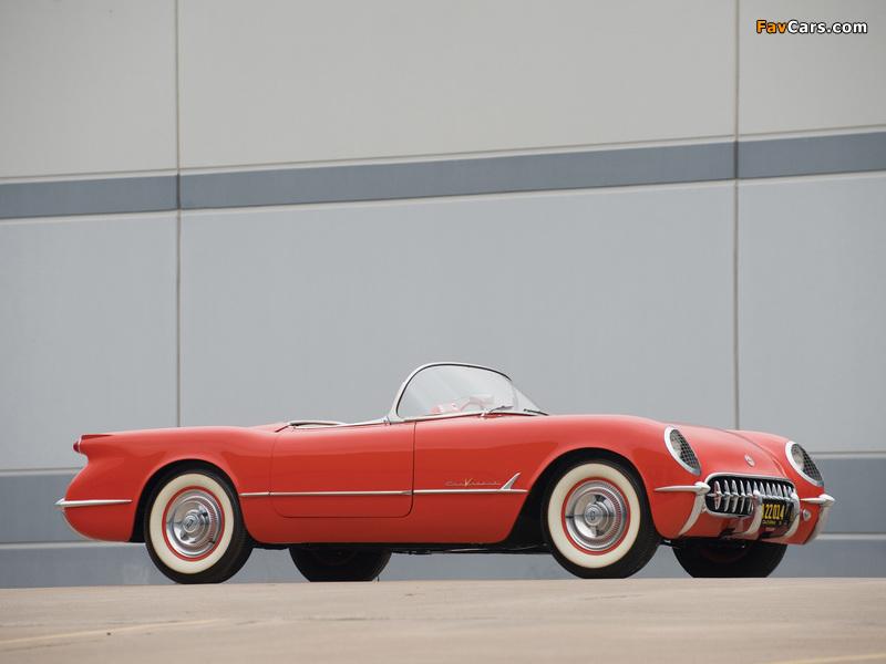 Corvette C1 1955 pictures (800 x 600)