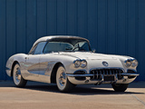 Corvette C1 (J800-867) 1958 wallpapers