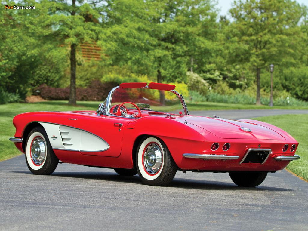 Corvette C1 Fuel Injection 1961 images (1024 x 768)