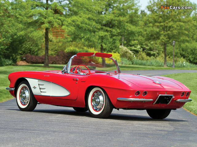 Corvette C1 Fuel Injection 1961 images (640 x 480)