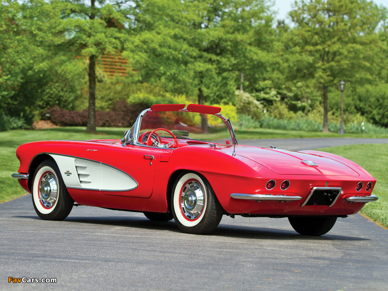 Corvette C1 Fuel Injection 1961 images (800 x 600)