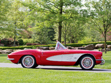 Corvette C1 Fuel Injection 1961 wallpapers