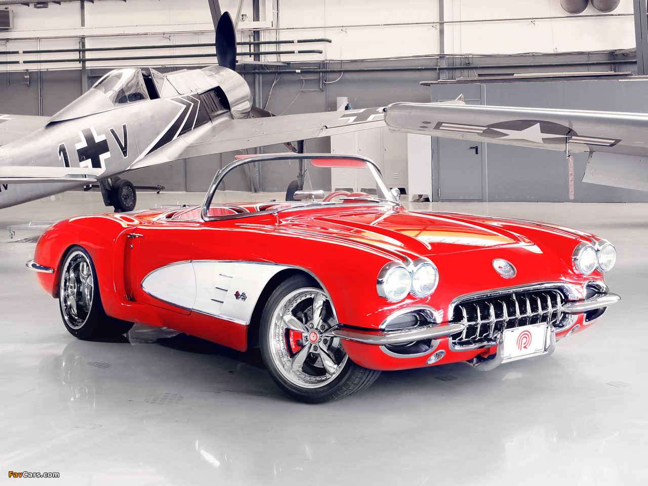 Pogea Racing Corvette C1 2012 wallpapers (1280 x 960)