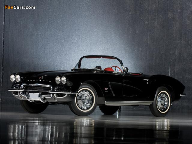 Photos of Corvette C1 Fuel Injection 1962 (640 x 480)