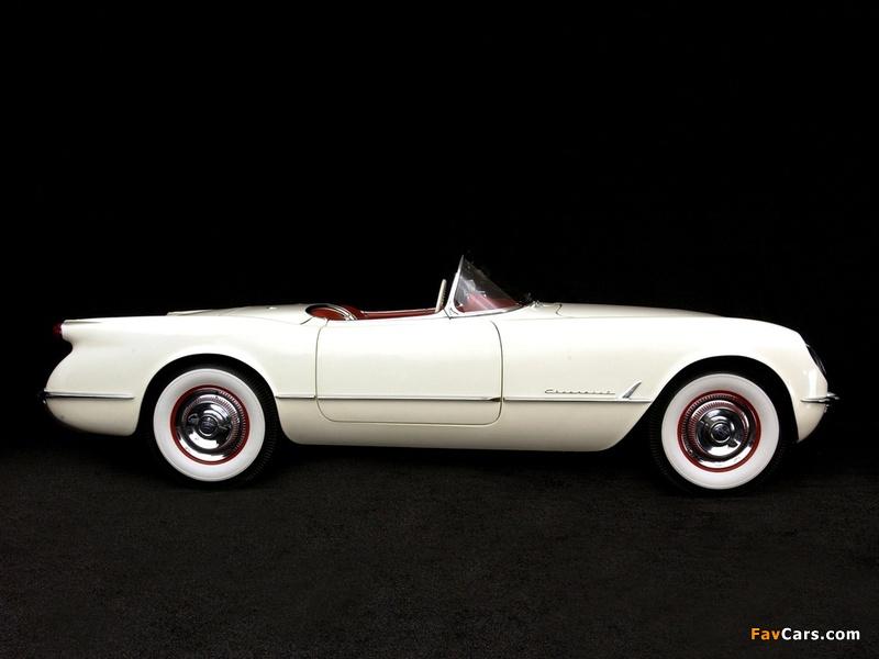 Pictures of Corvette C1 1954 (800 x 600)