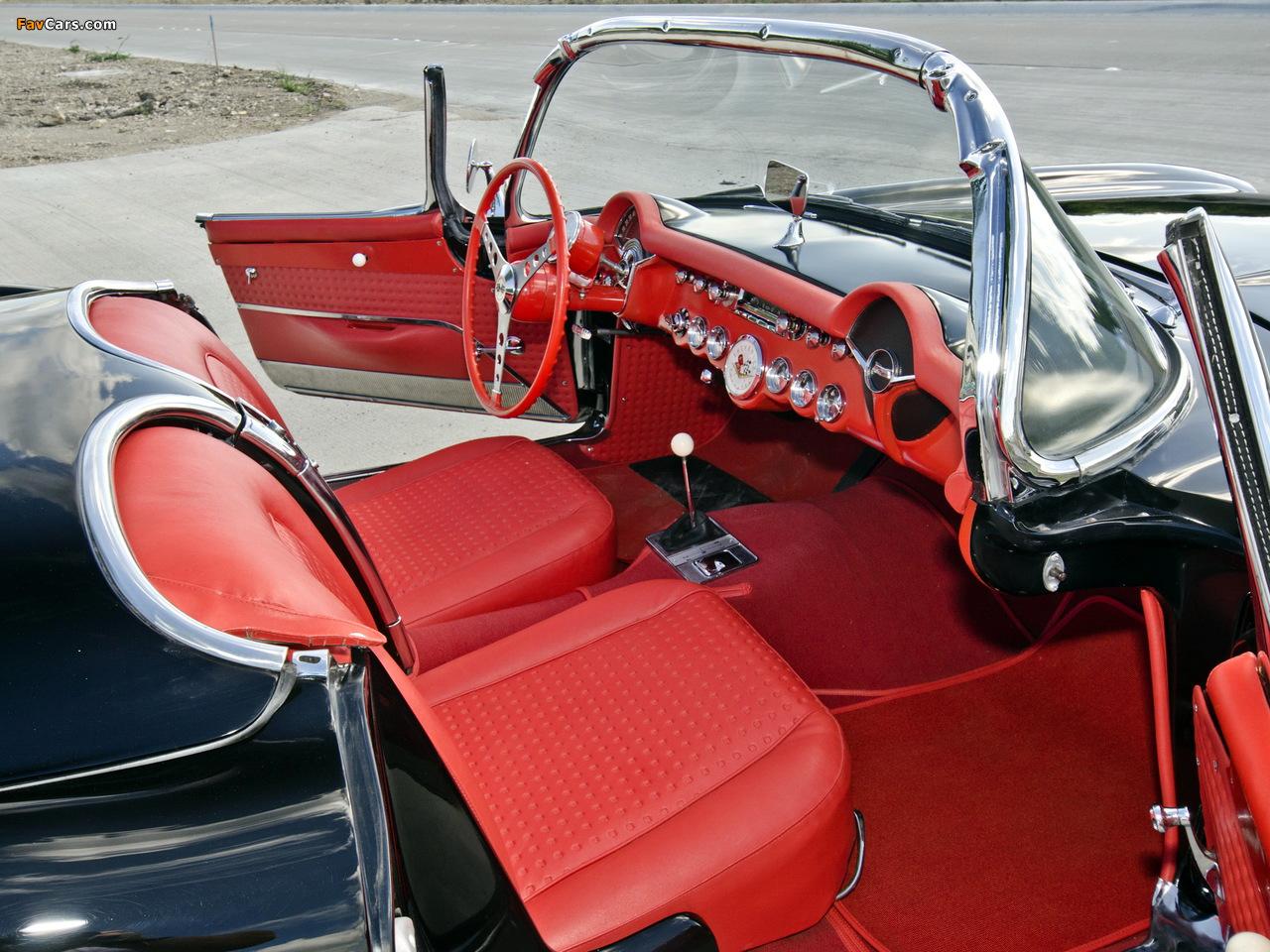 Pictures of Corvette C1 Airbox COPO Race Car (RPO 579E) 1957 (1280 x 960)