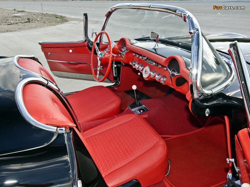 Pictures of Corvette C1 Airbox COPO Race Car (RPO 579E) 1957 (800 x 600)
