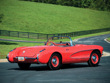 Pictures of Corvette C1 Airbox COPO Race Car (RPO 579E) 1957