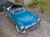 Corvette C1 Bubbletop 1954 wallpapers