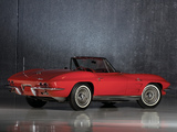 Corvette Sting Ray Convertible (C2) 1963 pictures