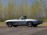 Corvette Sting Ray L36 427/390 HP Convertible (C2) 1967 images