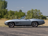 Corvette Sting Ray L36 427/390 HP Convertible (C2) 1967 pictures