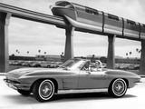 Images of Corvette Sting Ray Convertible (C2) 1963
