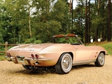 Photos of Corvette Sting Ray L75 327/300 HP Convertible (C2) 1964