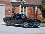 Photos of Corvette Sting Ray L84 327/375 HP Fuel Injection (C2) 1965