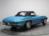 Photos of Corvette Sting Ray L36 427/390 HP Convertible (C2) 1967