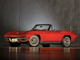 Pictures of Corvette Sting Ray Convertible (C2) 1963