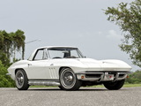 Pictures of Corvette Sting Ray L78 396/425 HP Convertible (C2) 1965