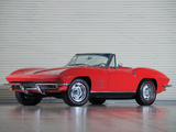 Pictures of Corvette Sting Ray L79 327/350 HP Convertible (C2) 1967