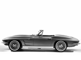 Corvette Sting Ray Convertible (C2) 1963 wallpapers