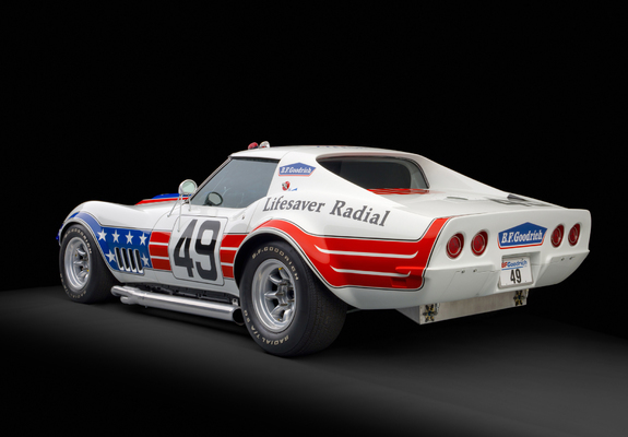 Corvette Stingray Zl1 Bfg John Greenwood Race Car C3 1972 Wallpapers