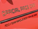 Corvette Convertible Indy 500 Pace Car (C4) 1986 images