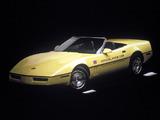 Corvette Convertible Indy 500 Pace Car (C4) 1986 pictures