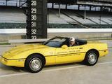 Corvette Convertible Indy 500 Pace Car (C4) 1986 wallpapers