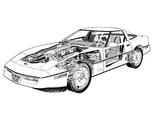 Corvette ZR-1 Coupe (C4) 1990 pictures
