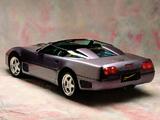 Callaway C4 Twin Turbo Corvette Speedster (B2K) 1991 wallpapers