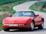 Corvette Convertible EU-spec (C4) 1991–96 wallpapers