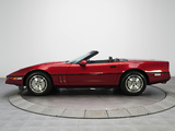 Pictures of Corvette Convertible (C4) 1986–91