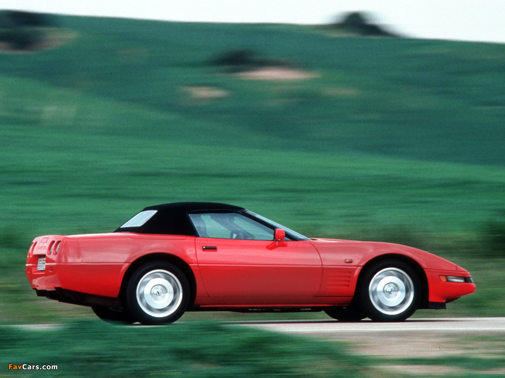 Pictures Of Corvette Convertible Eu Spec C4 1991 96