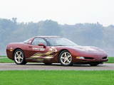 Corvette Coupe 50th Anniversary Indy 500 Pace Car (C5) 2002 wallpapers