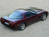 Photos of Corvette Coupe 50th Anniversary EU-spec (C5) 2002–03
