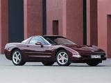 Pictures of Corvette Coupe 50th Anniversary EU-spec (C5) 2002–03